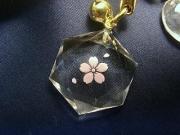 水晶カット桜